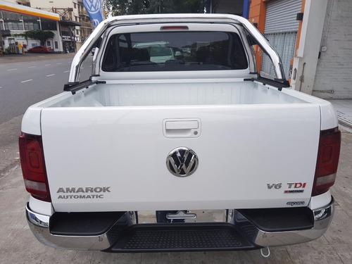 volkswagen amarok  v6 3.0 tdi 224cv 4x4 autmatica espasa