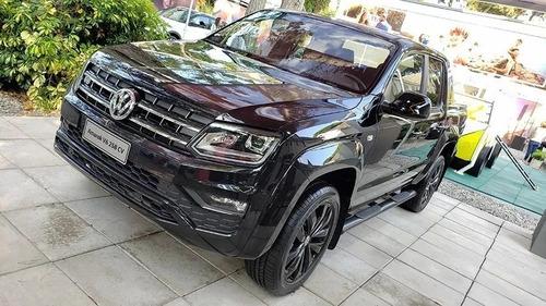 volkswagen amarok v6 black style 0km fisica financio/permuto