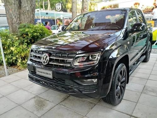 volkswagen amarok v6 black style 0km fisica tasa del 4% r