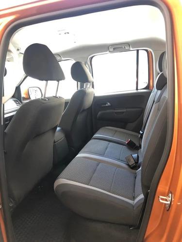 volkswagen amarok v6 comfortline 2020 nueva 0km 4x4 at autos