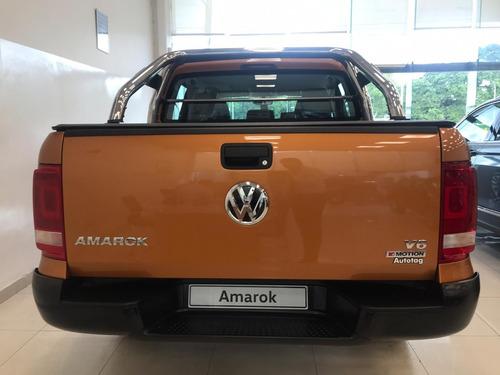 volkswagen amarok v6 comfortline 3.0 tdi 258cv 4x4 at 3