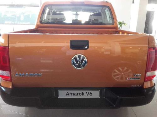 volkswagen amarok v6 comfortline !!!! ent. ya (mojb)