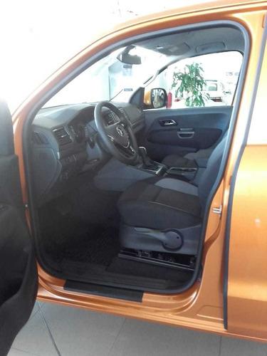 volkswagen amarok v6 comfortline !! naranja ent. inm. (mojb)