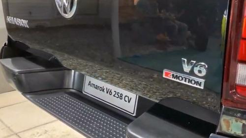 volkswagen amarok v6 extreme 0km 4x4 full vw precio at v6c