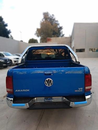 volkswagen amarok v6 highline 0km tasa 0% entrega inmediata