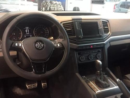 volkswagen amarok v6 highline 4x4 automatica okm 2020 nueva
