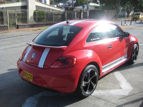 volkswagen beatle, modelo 2016, color rojo,
