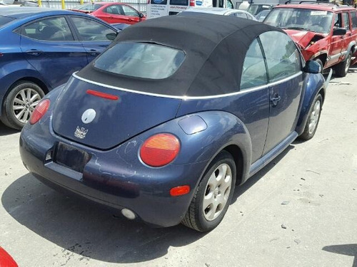 volkswagen beetle 1999 cristal fijo o aleta