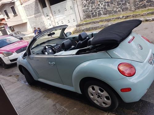 volkswagen beetle 2.0 cabrio tiptronic piel at 2003