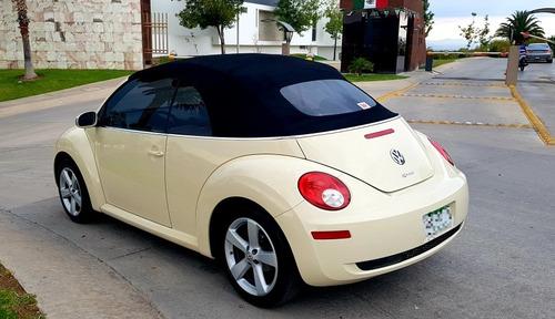 volkswagen beetle 2.5 cabrio tiptronic at 2010