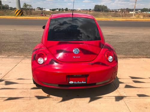 volkswagen beetle gls 2006 rojo