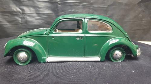 volkswagen  benttle  1955 escarabajo escala 1/18 burago