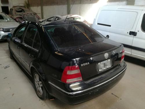 volkswagen bora 1.9 tdi chocado