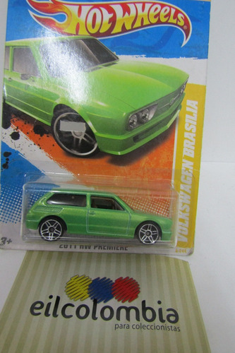 volkswagen brasilia  ediccion  2010 hot wheels  eilcolombia
