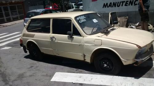 volkswagen  brasilia sucata somente pecas 1.6 tenho tudo