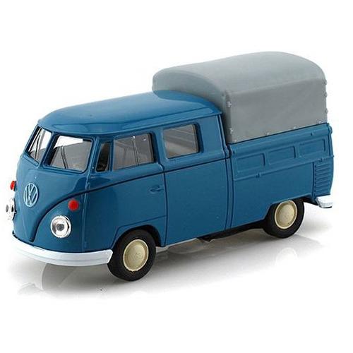volkswagen cabina doble 1960 esc. 1:36 nueva en caja,12 cm.