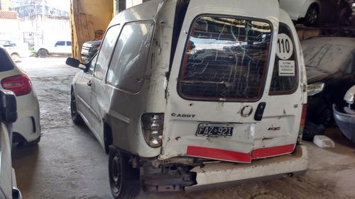 volkswagen caddy 1.6 dado de baja con alta de motor