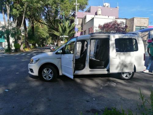 volkswagen caddy 1.6 pasajeros mt 2018