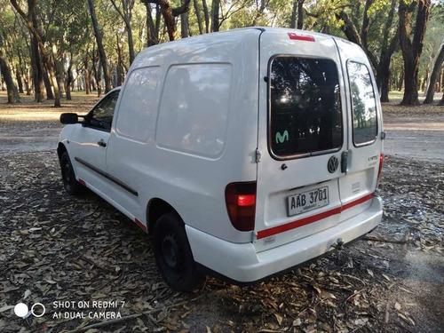 volkswagen caddy 1.9 sd 2001 - aerocar - cuota en pesos