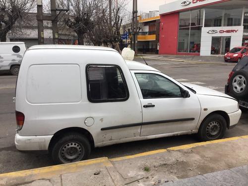 volkswagen caddy 1.9 sd aa  en cuotas fijas sin anticipo