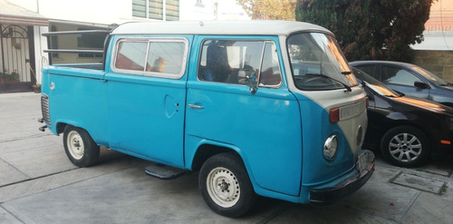 volkswagen combi convertida a pickup