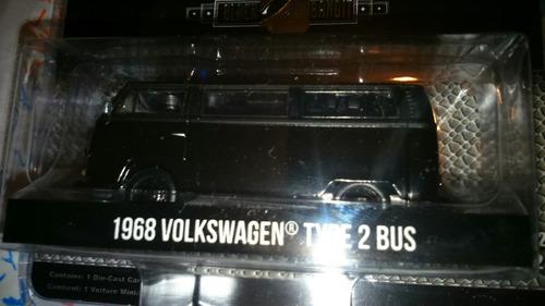 volkswagen combi type bus green light serie black lyly toys