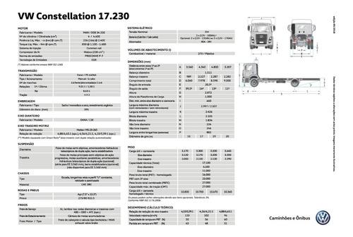 volkswagen constellation 17.230 trend c/ ar 19/20