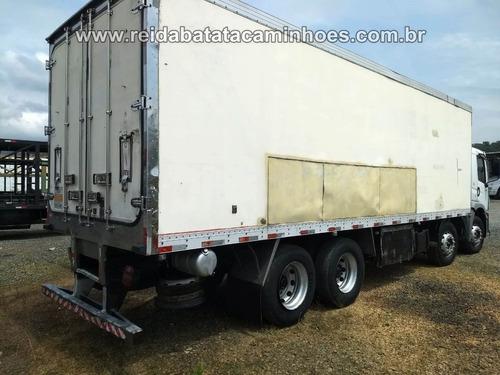 volkswagen constellation 24.250 bitruck 8x2 baú frigorífico