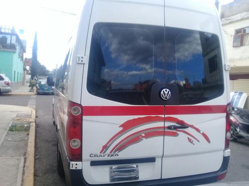 volkswagen crafter 2.0 tdi l4 lwb 16 pasajeros 3.88t mt