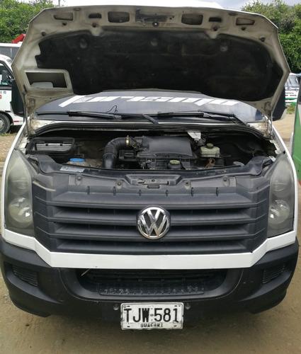 volkswagen crafter biturbo 2.5 tdi 18 pasajeros vw