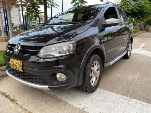 volkswagen, cross fox, 2014, negro, 5 puertas, único dueño.