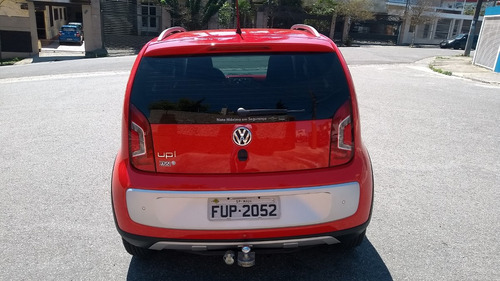 volkswagen cross up 2016, 4 pneus novos, 2ª dona, revisado,