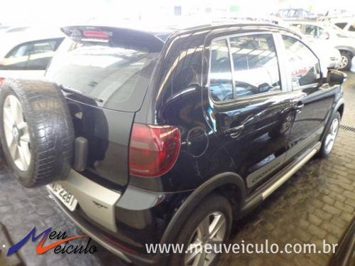 volkswagen crossfox 1.6 2011 preto