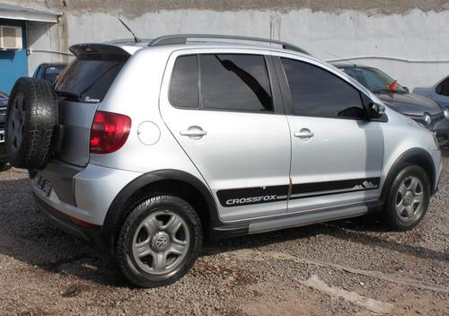 volkswagen crossfox 1.6 comfortline $104000 & cuotas fijas!!