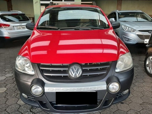 volkswagen crossfox  1.6   flex manual 2008