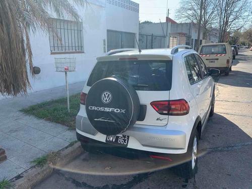 volkswagen crossfox 1.6 highline cuero 2015