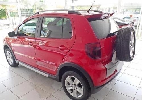 volkswagen crossfox 1.6 mi vermelho