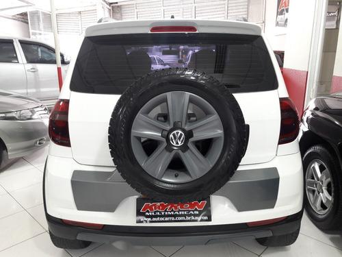 volkswagen crossfox 1.6 roda liga couro total flex completo