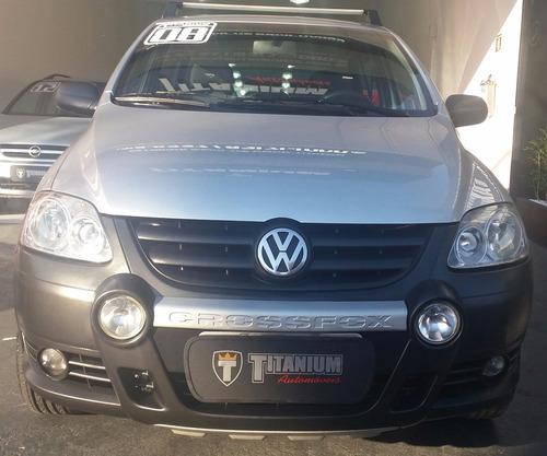 volkswagen crossfox 1.6 total flex 5p titanium automóveis