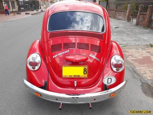 volkswagen escarabajo 1.6
