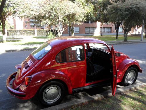 volkswagen escarabajo 1.6 cc mec