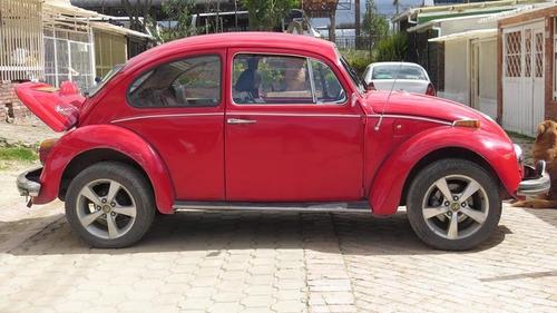 volkswagen escarabajo 1954 alemán, rojo