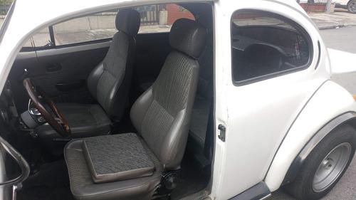 volkswagen escarabajo 1980 blanco 2 puertas
