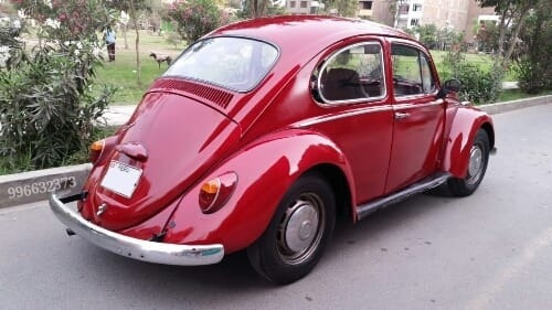 volkswagen  escarabajo  alemán original 1966