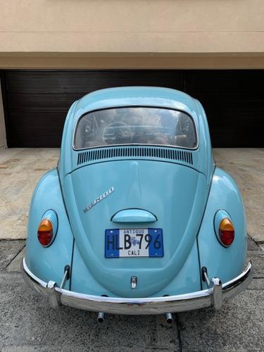 volkswagen escarabajo clasico 1966