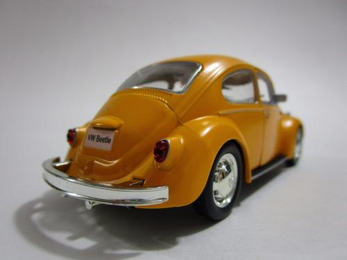 volkswagen escarabajo metalico 13 cm de coleccion t6