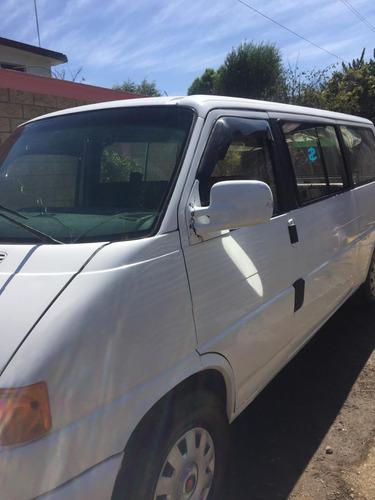 volkswagen eurovan 2.5 minivan l5 pasajeros 5vel mt 2001