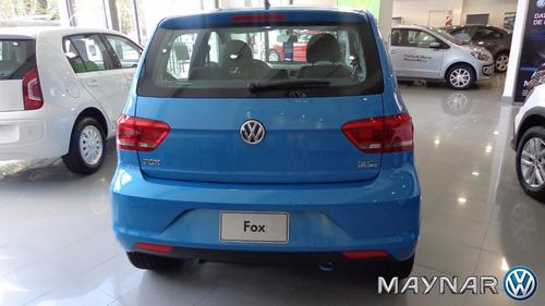 volkswagen fox 0km 2017 100% financiado entrega inmediata