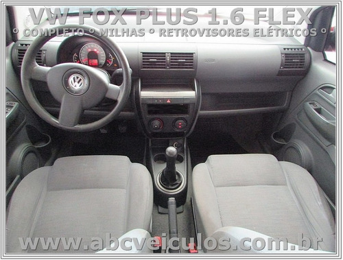 volkswagen fox 1.6 mi plus - ano 2010- completo - conservado