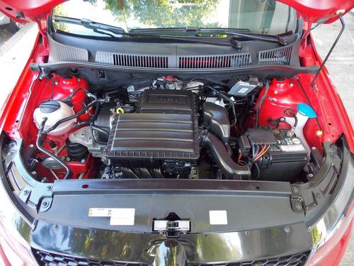 volkswagen fox 1.6 msi pepper 2017 rojo jorge carbone